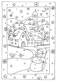 Holiday Coloring Sheets Printables Color By Number Printable Free Winter Hol