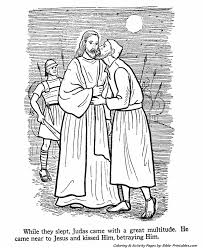 The Apostles Coloring Pages 8