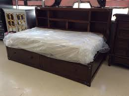 bedroom exle twin captains bed design with shelf for kids room