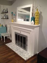 fresh tiled fireplace hearth home design fresh and tiled