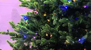 Fraser Fir Christmas Trees Artificial by Santa U0027s Best 9 U0027 Foxwood Fraser Fir W Ez Power U0026 7 Light Functions