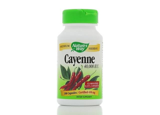 Nature's Way Cayenne Capsules