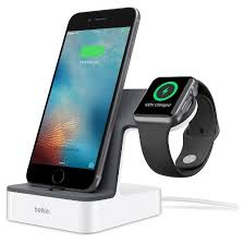 Belkin PowerHouse Charge Dock for Apple Watch iPhone Tar