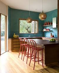 Melbourne Coastal Kitchen Decor With Pedestal Counter Height Stools Transitional And Eco Interior Decoration