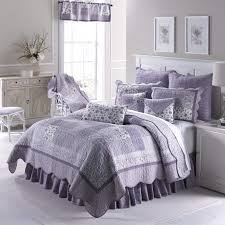 quilt lavender by donna sharp contemporary quilt with patchwork pattern machine washable