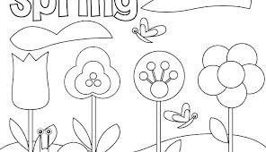 Spring Coloring Pages Free Printable And