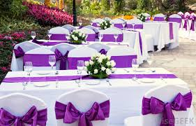 Wedding Consultants Can Help Arrange A Themed Including The Food And Decorations At Reception