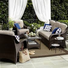 Ty Pennington Patio Furniture Parkside by Grand Resort Summerfield 4 Piece Seating Set Sand Limited