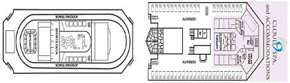 Carnival Splendor Deck Plans by International Cruise Carnival Splendor Deck Plan Crossworld Holidays