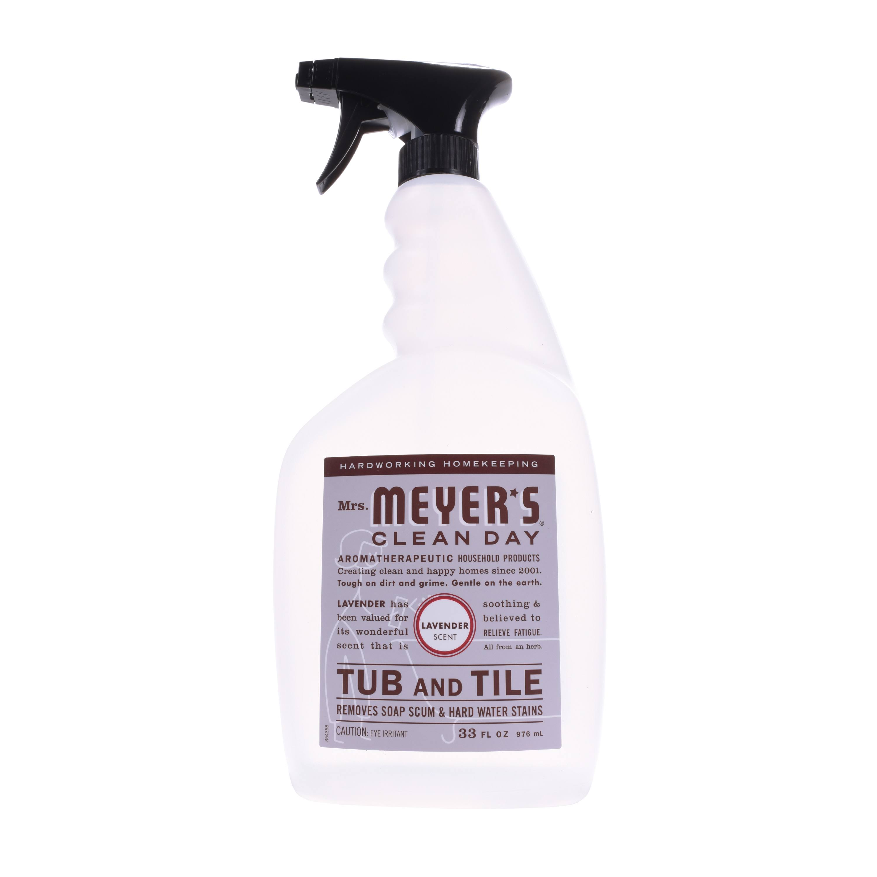 Mrs. Meyer's Tub & Tile Cleaner - Lavender, 33oz