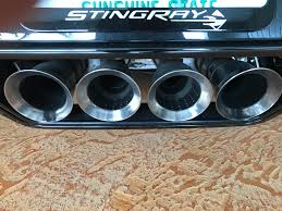 Black Carbon On Exhaust Tips ? - CorvetteForum - Chevrolet Corvette ... What Did You Do For A Exhaust Tips 42019 Engine Driveline Offroad Arsenal 5 Inlet 10 Outlet 18 Diesel Octagon Exhaust Tip Pypes Mustang Black Pypebomb Axleback Exhaust Sfm76msb 1114 Gt Muffler Tip Dual Round Double Wall Forward Slash Cut Barrel Remington Edition Tips Available In 2 Mbrp T5115blk 312 Stainless Steel 3 Inlet Sema 2014 Tipoff 52017 37 Embossed 45 Flowmaster Ram 4 304 Ceramic Twin Circular Rolled Pm303bk3 Auto Choice Direct 52018 F150 Borla Stype Catback System Porsche Panamera Gts Style 970 42016 Layer Titanium