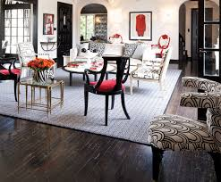 Black And Red Living Room Decorations by Black White And Red Living Room Eclectic Living Room San