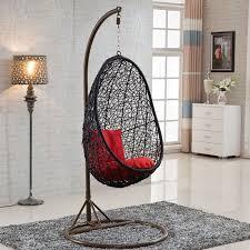 Round Rattan Bird Nest Outdoor Garden Furniture Indoor Hanging Wicker Swing Egg Chair