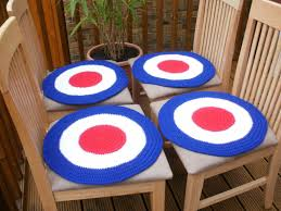Mod Target Dining Chair Covers, Chair Covers, Armchair Covers, Mod Target  Roundel, Crochet Covers, 1960s Inspired, Red White Blue, Mod Scene Us 125 28 Offsunnyrain 1 Piece Cotton White Crochet Table Cloth Christmas Tablecloth For Ding Rectangle Crocheted Coffee Coverin Free Runner Or Pattern And Small Things Diy Ontrend Chair Socks 26 Creative Rug Patterns Allfreecrochetcom 62 The Funky Stitch Back Covers By Cara Medus Diagram Ja001 Annies Attic 1992 Crochet Romantic Ding Room Vol Ii Ebay Chair Cover Pattern Seat Sacks Pockets Ding China Lace Vintage Large Floral Cover Wedding