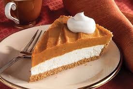 Pumpkin Layer Cheesecake by Creamy Two Layer Pumpkin Pie Kraft Recipes