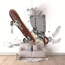 jiaoyk 3d murals sportlicher stil roller 3d effekt wandbild
