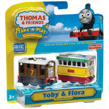 Tidmouth Shed Deluxe Set by Thomas And Friends Toby And Flora Toy Engine Free Shipping On