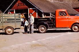 100 Cow Truck Ancestry Island Sunday Drive Trailer Oregon 1950