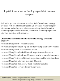 Check Our Best Resume Samples With Information Technology Objectives Of Resumes Example Objective In
