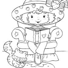 Children Reading Books Coloring Pages Book For Boys Kids