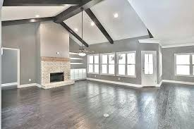 Paint Colors With Dark Wood Floors And Trim New Grey Walls Od White Classic Gray Photograph