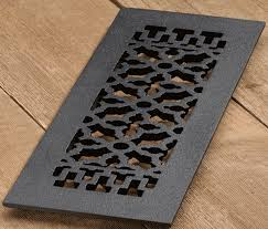 cast iron renaissance design floor register