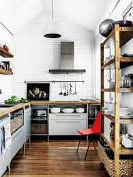 Kitchen White Industrial Kitchen Decor Ideas Cool And
