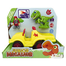 100 Dino Trucks Junior Megasaur Light Up Truck Playset The Warehouse