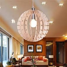 12W Vintage LED Others Wood Chandeliers Living Room Bedroom Dining Study