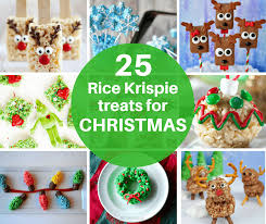 25 Rice Krispie Treats For Christmas Cereal