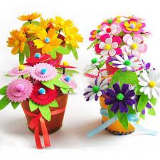 dessiner jouets conception diy non tissé artificielle pot de fleur