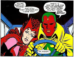 Scarlet Witch And Vision Romance