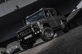 100 Land Rover Defender Truck Pimped Is One Mean Looking Pickup Bunch Of Cars