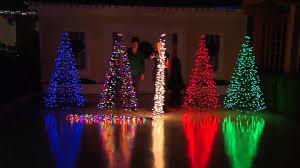 Pre Lit Flocked Alaskan Christmas Tree by Pre Lit 6 U0027 Fold Flat Outdoor Christmas Tree By Lori Greiner With