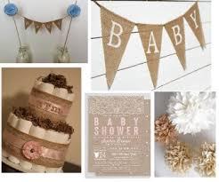 Burlap Baby Shower Decorations