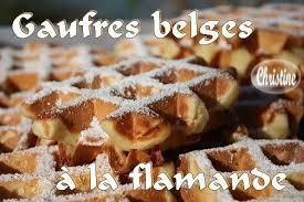 gaufres belges à la flamande bienvenue chez christhummm