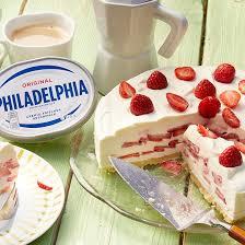 low carb erdbeer philadelphia torte