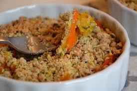 cuisiner le potimarron en l馮ume crumble de potimarron et légumes d automne aux graines de courge