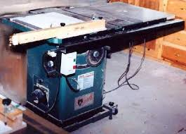 Grizzly 1023 Cabinet Saw by Grizzly 1023s Table Saw Arrival Setup And Comments