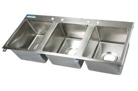 astonishing 3 compartment sink faucet kitchen with three at