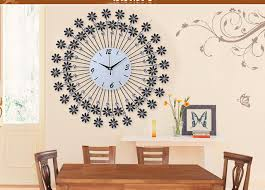 Home Decoration Wall Clock Modern Design Large Decorative With Clocks Regarding Your