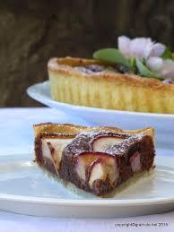 tarte aux poires cardamom et chocolat salzkorn meine