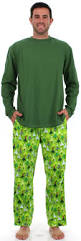men u0027s christmas trees green flannel pajama sets by sleepytimepjs