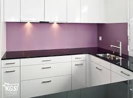satinato glas küchenrückwand in ral4009 ihrer