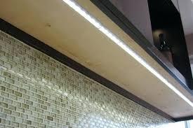 cabinet lighting blue counter led wireless lights ebay