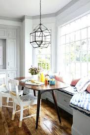 Design Dining Room Simple Nook Stunning Ideas Breakfast Pine Effect Table With Corner