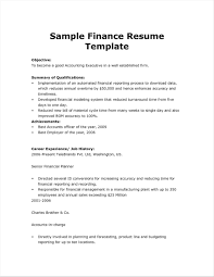 Amusingost Sample Resume For Financial Management Student Recent Mat About Current Of Templates Rhbrackettvilleinfo Remarkable With