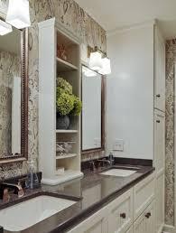 narrow bathroom cabinet as a wonderful storage in your