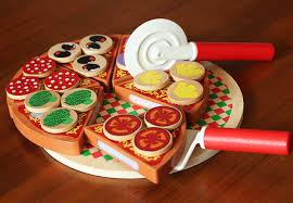 jeux de cuisine de pizza de enfants en bois pizza alimentaire jeu coupe pizza prétend jouets