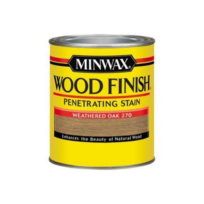 Minwax Interior Stain - Weathered Oak, 1qt